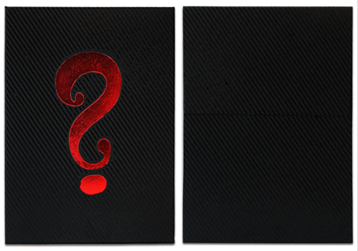 미스테리박스블랙에디션(Mystery Box Black Edition Playing Cards)