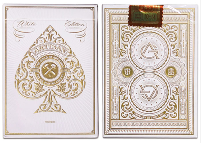 화이트아티젠덱(White Artisan Playing Cards)