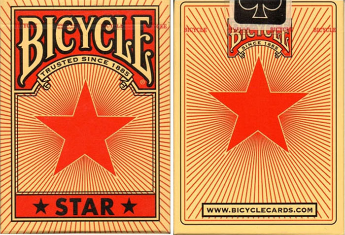 레드스타덱(Bicycle Red Star Playing Cards)_ by USPCC