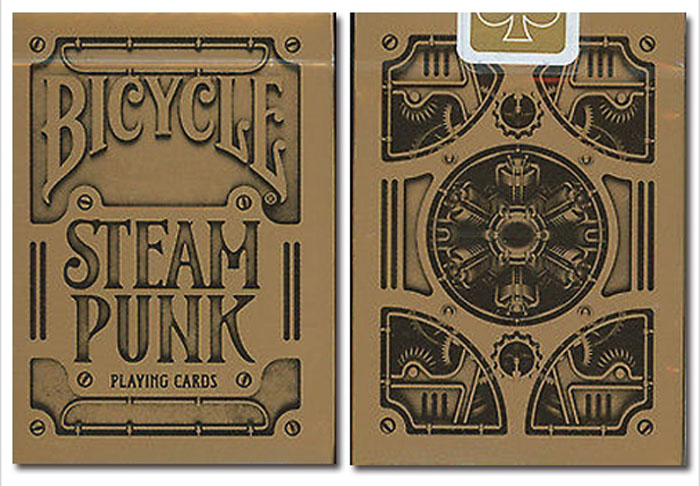 스팀펑크덱(USPCC버전)Bicycle Steampunk Playing Cards by USPCC
