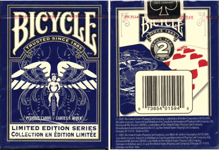 리미티드에디션덱-블루(Bicycle Limited Edition Series #2 (Blue) by USPCC)