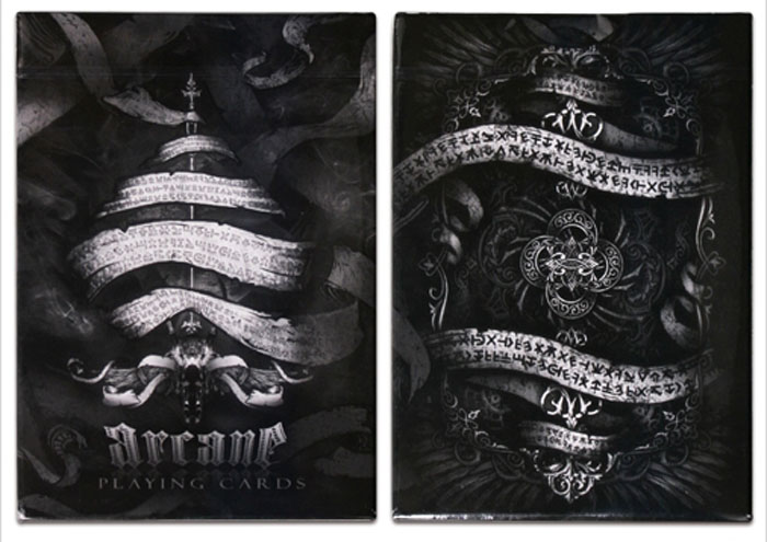 아케인덱_블랙(Arcane Playing Cards_Black)