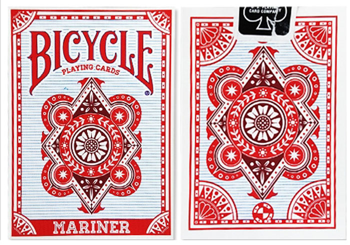 바이시클마리너레드(Bicycle Mariner Playing Cards Red)