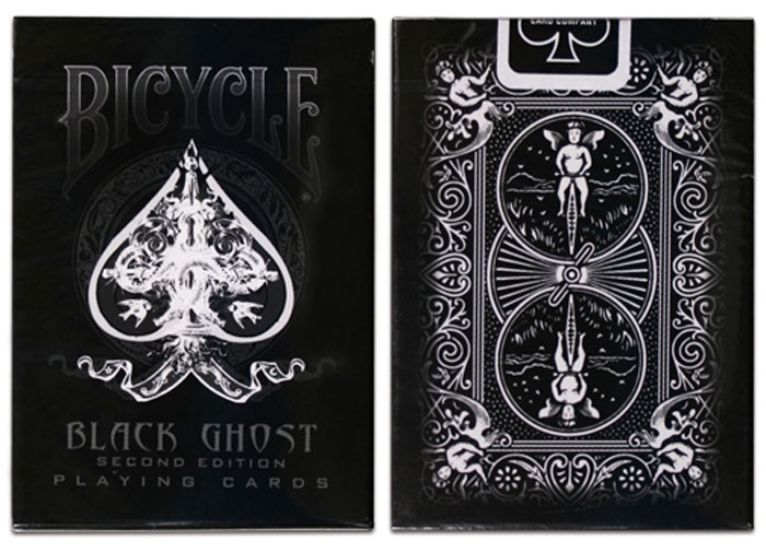 블랙고스트덱(Bicycle Black Ghost 2nd Edition Decks)