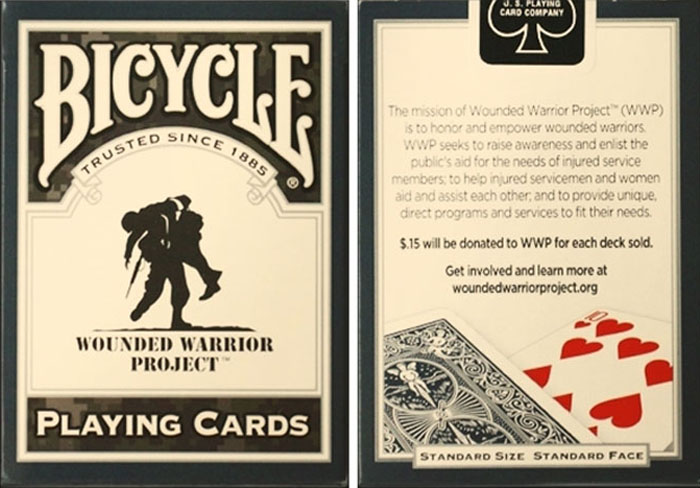 운디드워리어카드덱(Bicycle Wounded Warrior Cards by US Playing Card)