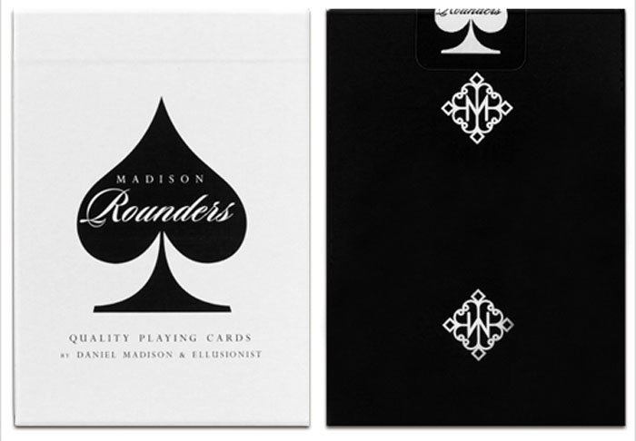 라운더스블랙덱(Rounders Playing Cards by Madison - Black)